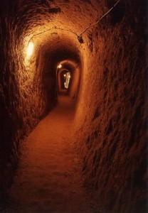 الممرات في مدينة ديرنكويو تحت الأرض