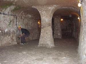 القاعات في مدينة ديرنكويو تحت الأرض