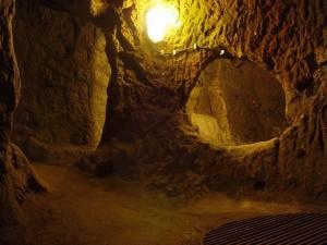 غرف النوم في مدينة ديرينكويو تحت الأرض